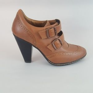 Eurosoft Sofft Granny Booties Buckle Brogue 7M